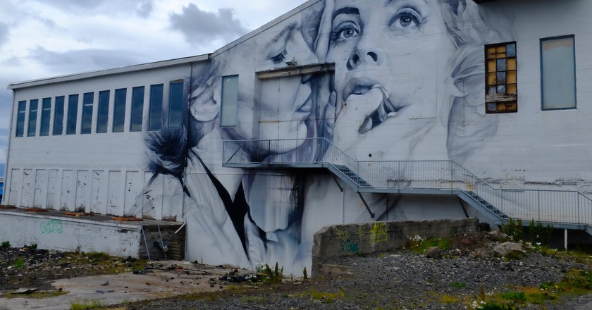From the 1961 play, 'No Exit' by Guido van Helten | Courtesy of the author