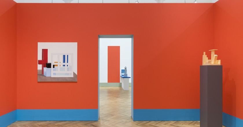 'Nathalie Du Pasquier: From time to time' installed at Pace London,  2017 | Photo: Damian Griffiths, courtesy Pace