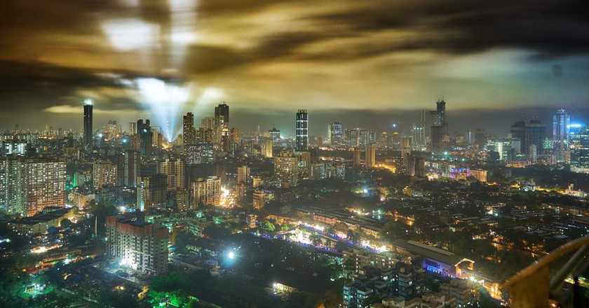 Mumbai At Night | © Vidur Malotra/Flickr