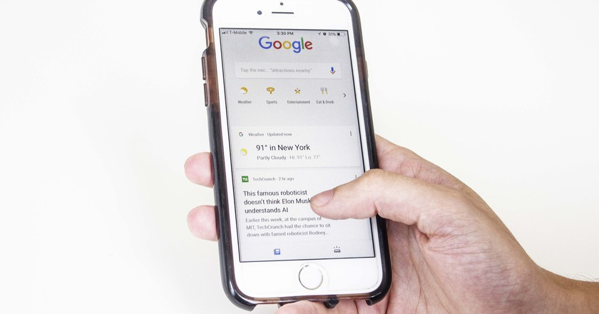 The new Google App | © Amanda Suarez/ Culture Trip