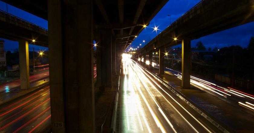 Highway, Night | © Courtesy of niekverlaan/Pixabay