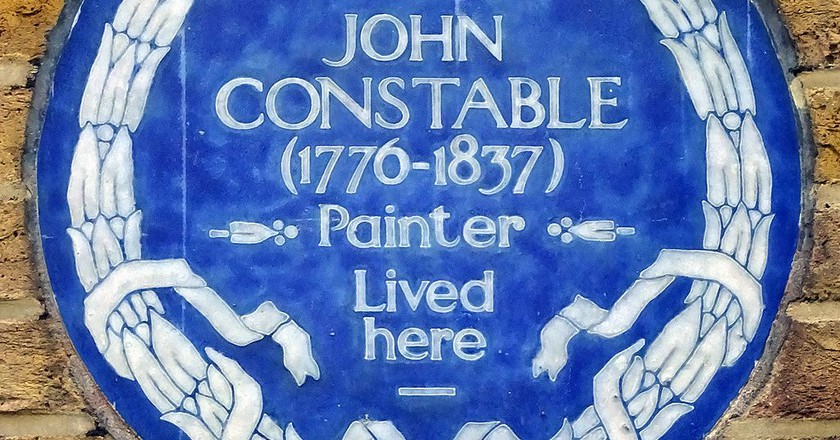 John Constables Blue Plaque | by Spudgun67