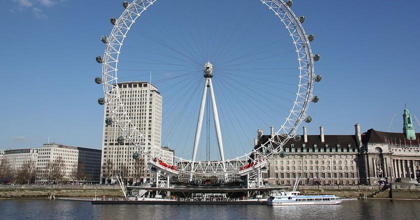 London Eye  © Wikimedia/Khamtran