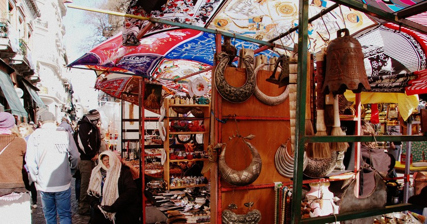 A random assortment of antiques at the San Telmo market   © LWYang/Flickr