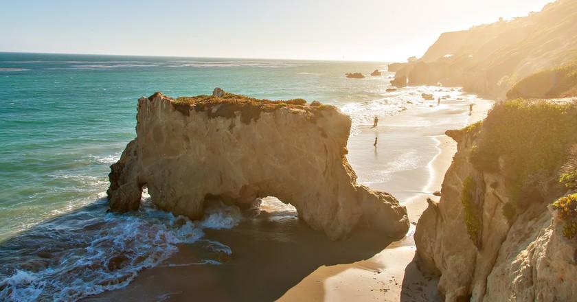 El Matador State Beach in Malibu, Southern California   © flatbox/Shutterstock