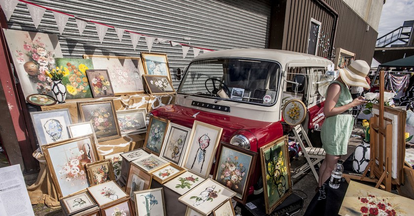 © The Vauxhall Art Car Boot fair