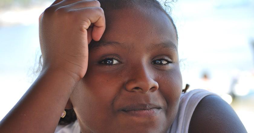 Afro Mexican girl in Guerrero | © AlejandroLinaresGarcia/WikiCommons