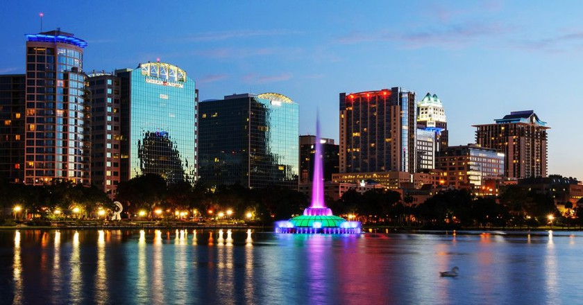 Lake Eola Park | © Courtesy City of Orlando