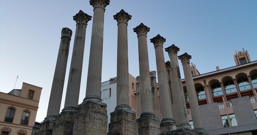 Cordoba's Roman Temple   © waldomiguez/Pixabay
