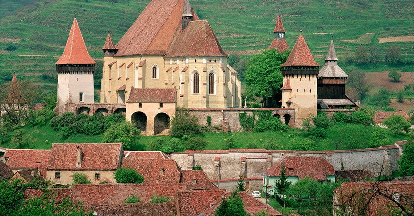 Fortified Saxon Church of Biertan  | © Otto Schemmel / Wikipedia