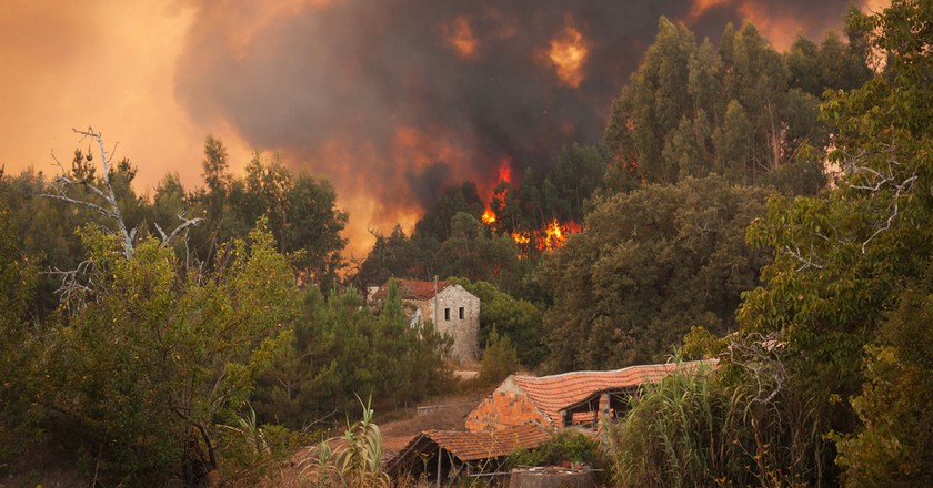 Fires in Portugal   © Paulo M. F. Pires / Shutterstock