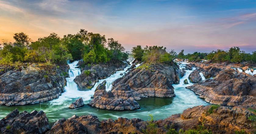 4000 islands at Champasak, Laos   © By Niti Kantarote / Shutterstock