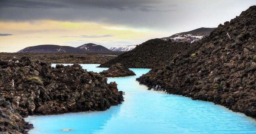 Geothermal springs, Iceland   © Dennis van de Water/Shutterstock