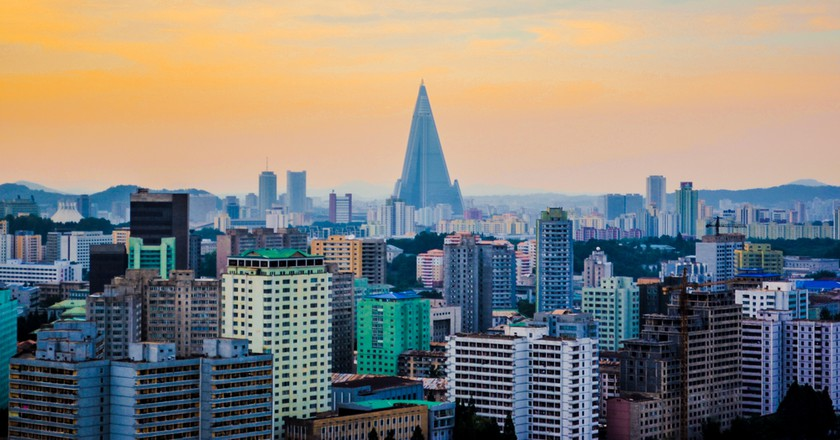 North Korea Skyline | © Chintung Lee / Shutterstock
