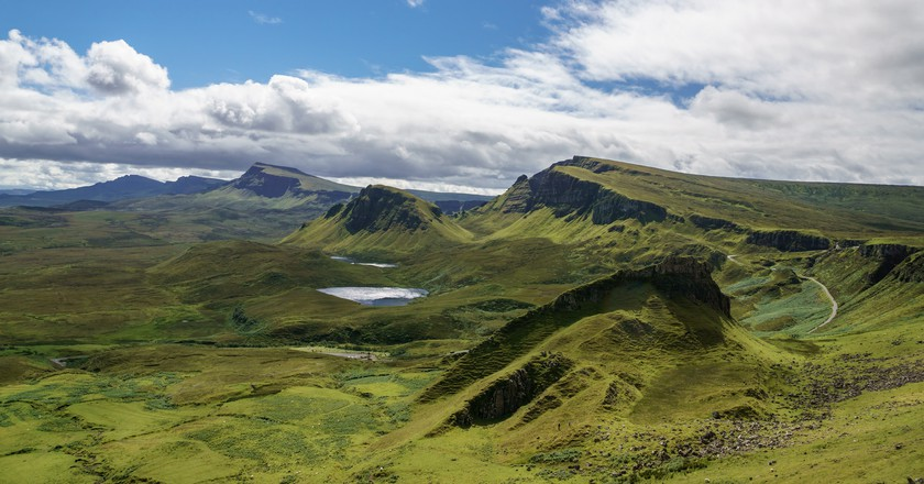 South over the Quiraing, Isle of Skye | © User:Colin/Flickr