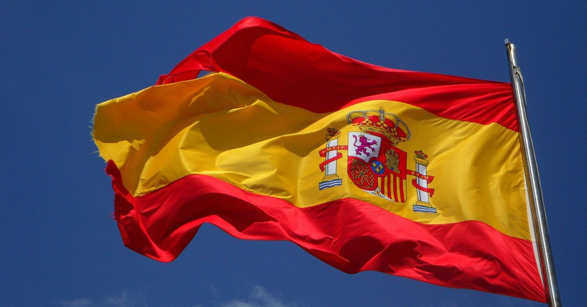 Spanish flag | © efraimstochter/Pixabay