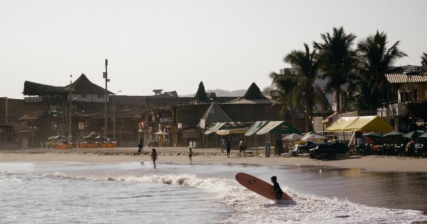 Máncora beach