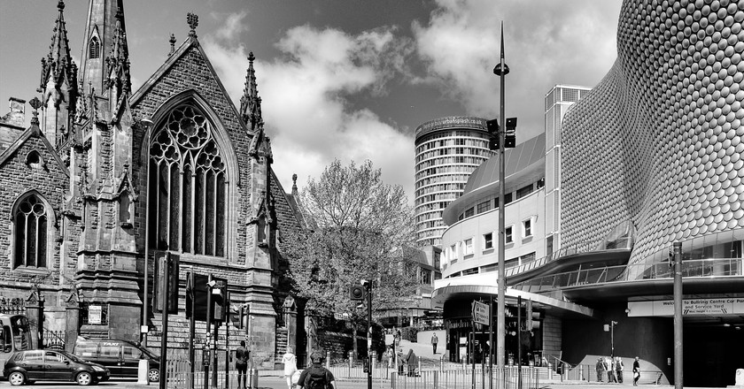 St Martin's Church & the Bullring | © Mac McCreery/Flickr