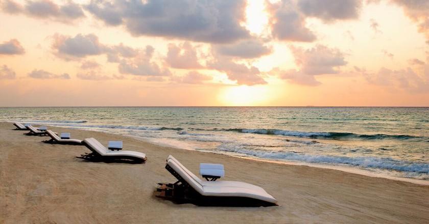Sunrise at Viceroy Riviera Maya | Courtesy of Viceroy Riviera Maya