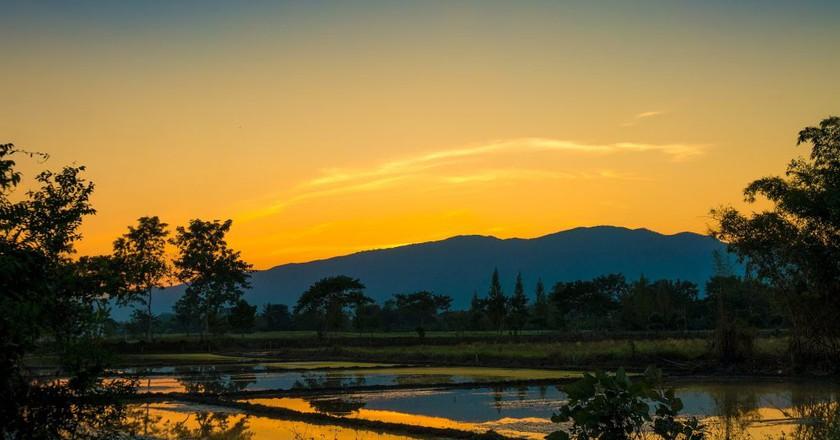 Sunset Mountain | © Courtesy of qimono/Pixabay