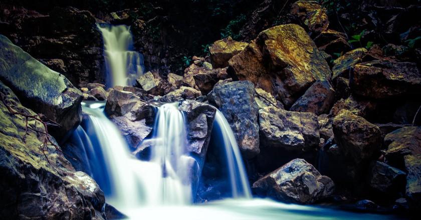 Waterfall   © Robb Reece/Finca Bellavista