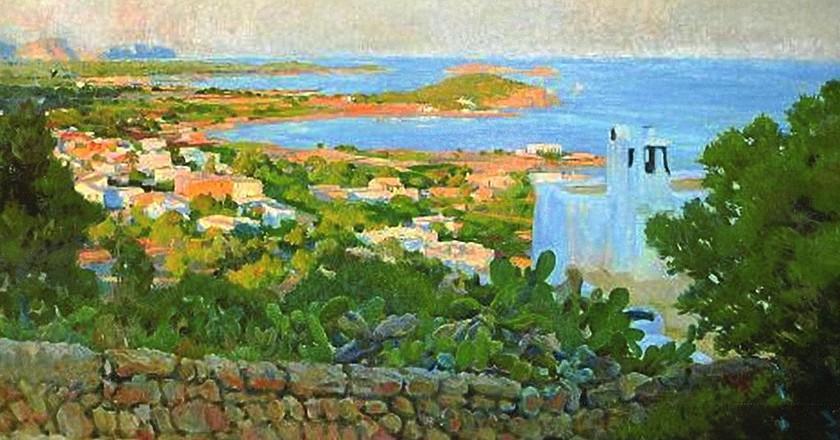 View of Santa Eulalia by Rigoberto Soler
