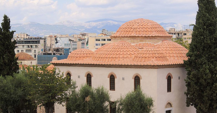 Fetiye mosque in Athens after its restoration | © C messier/WikiCommons