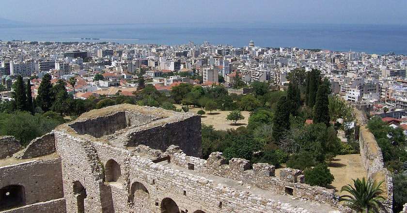 View of Patras from its fortress | © Guillaume Piolle/WikiCommons