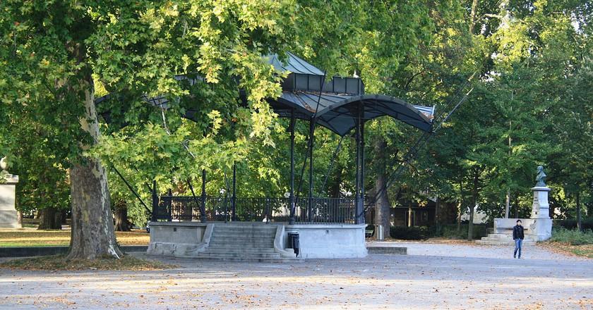 Platzspitz park today | © Roland zh/ WikiCommons