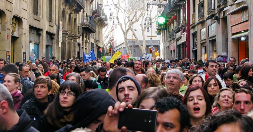 Protest in Barcelona I © Partido Animalista - PACMA