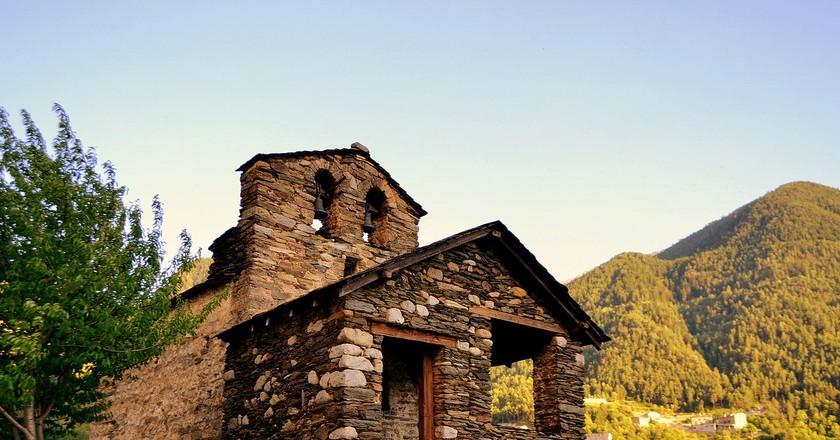 Església de Sant Romà de les Bons, Andorra | © Angela Llop / Flickr