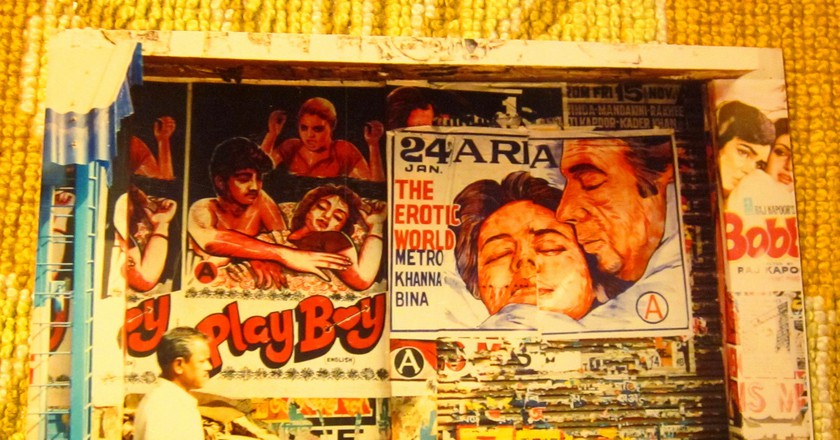 Bollywood film posters | © moreska/flickr