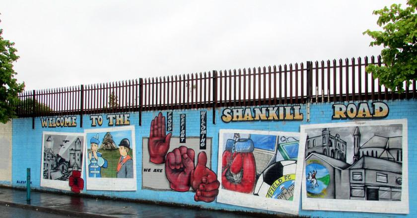 Shankill Road Murals | © Reading Tom / Flickr