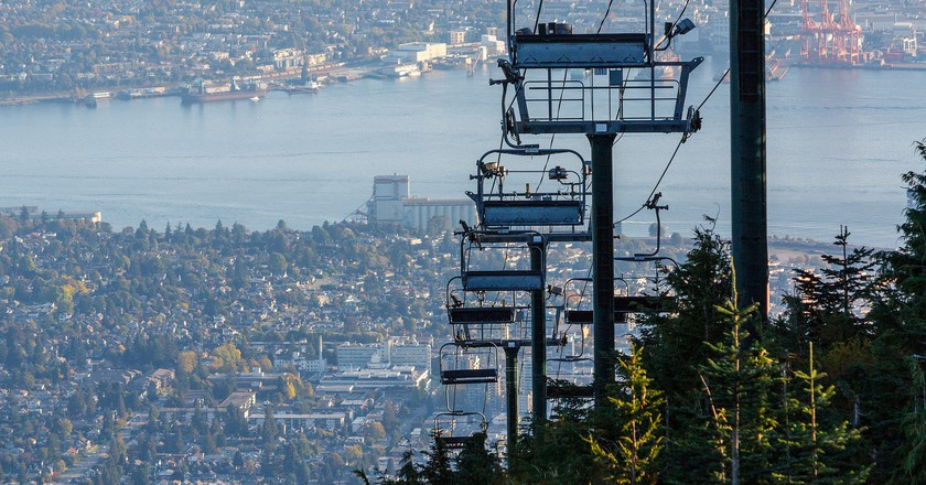 Summertime views on Grouse Mountain | © GeorgeDement / Flickr