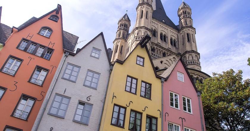 Cologne old town | © Ed Webster/Flickr