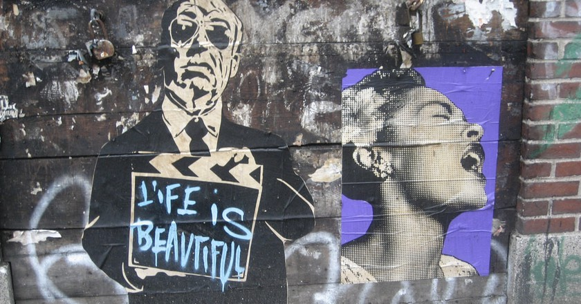Paste-ups by Mr. Brainwash | © SliceofNYC/Flickr