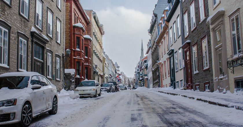 Snowy sidewalks in Quebec City | © Brad Fagan / Flickr