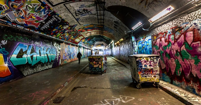 Leake Street Tunnel | © Flowizm/Flickr