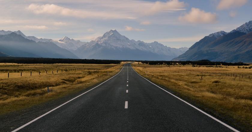 The road to Mt Cook   © Esmée Winnubst/Flickr