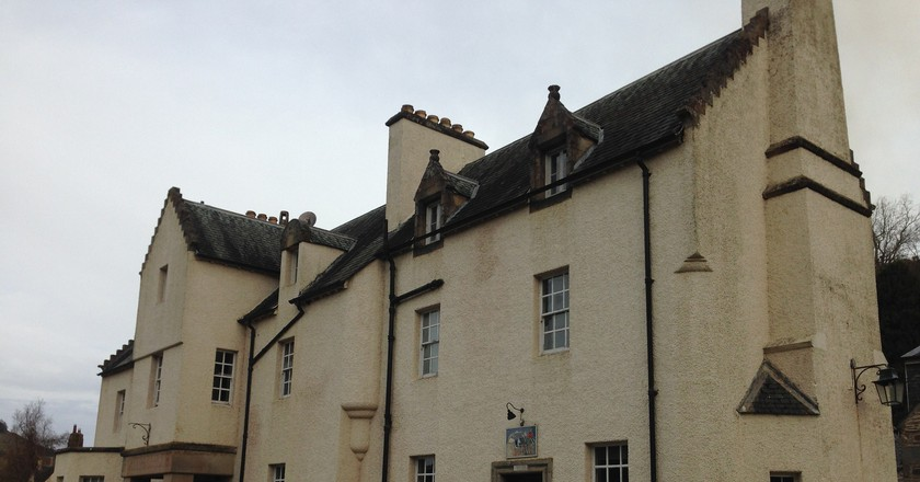 The Fortingall Hotel | © Laura-Del/Flickr