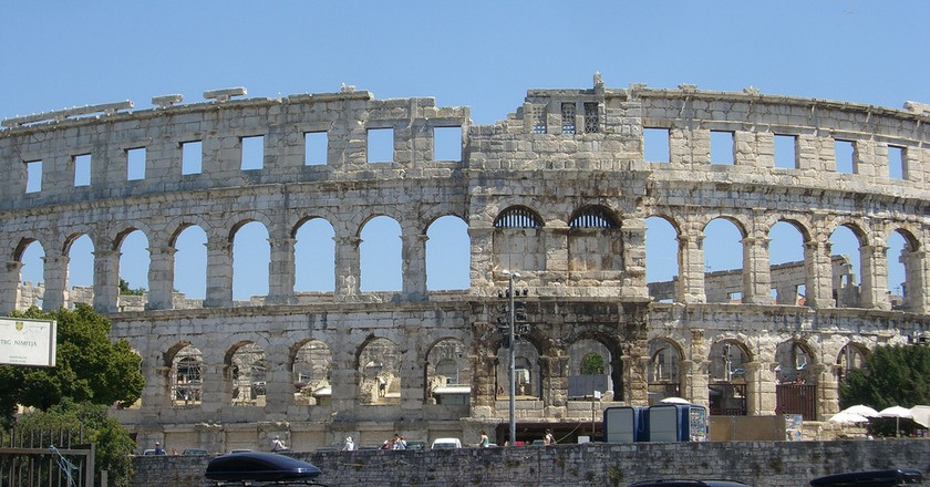 Pula Amphitheatre | © Peter Collins/Flickr