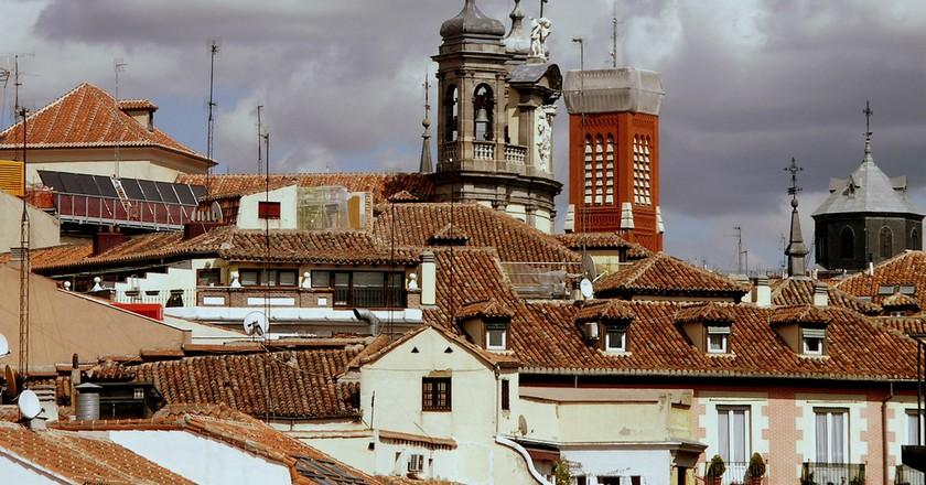 Madrid rooftops|©FEDERICO JORDÁ / Flickr
