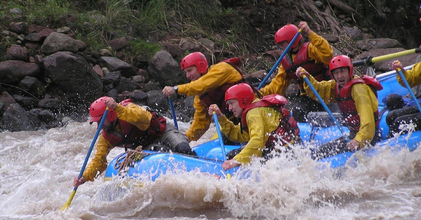 White water rafting | © Rupert Taylor-Price/Flickr