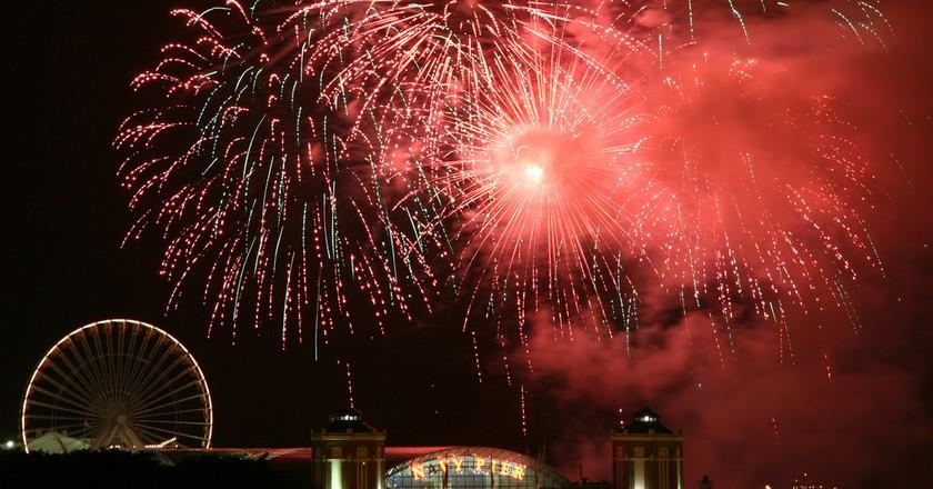 2011 Navy Pier Summer Fireworks | © Michael Mayer / Flickr