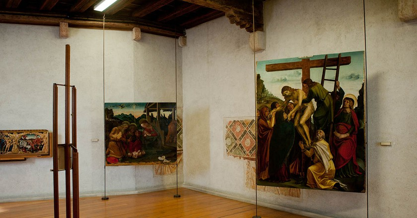 A display at the Museo di Castelvecchio | leonl/Flickr