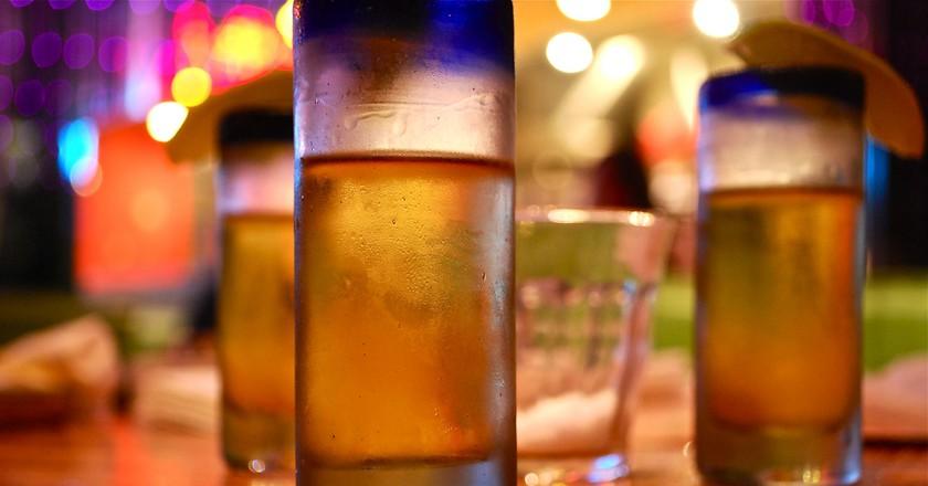 Tequila shots   © KittyKaht / Flickr