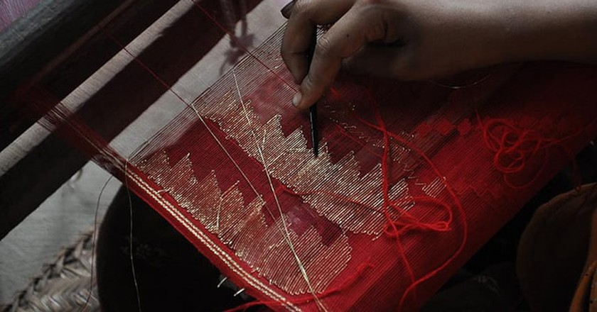 Weaving a Jamdani | @masudAnanda / Flickr