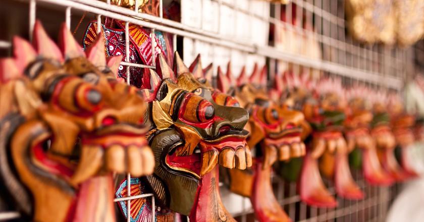 Thai masks | © Mark Fischer/Flickr