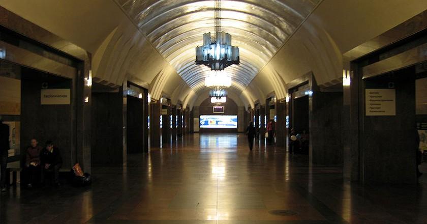 Ploshchad 1905 Goda Metro Station   Kostya Wiki / Wikipedia