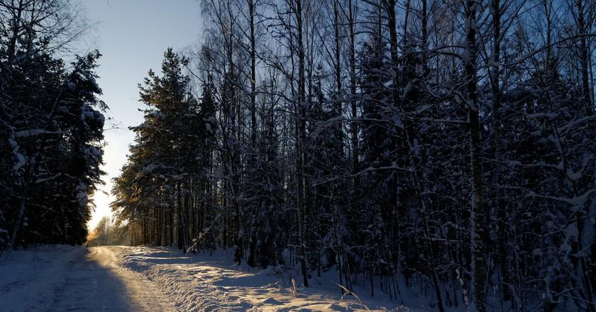 Malminkartano hill in winter. | © Timo Tervo/Flickr